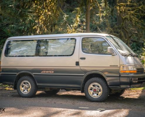 This is a 1992 Toyota Hiace Super Custom 4x4