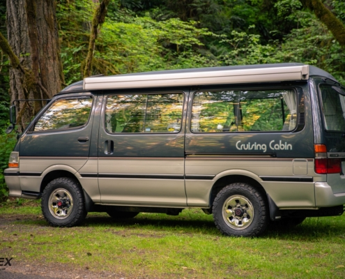 The 1993 Toyota Hiace Cruising Cabin for sale here at Ottoex