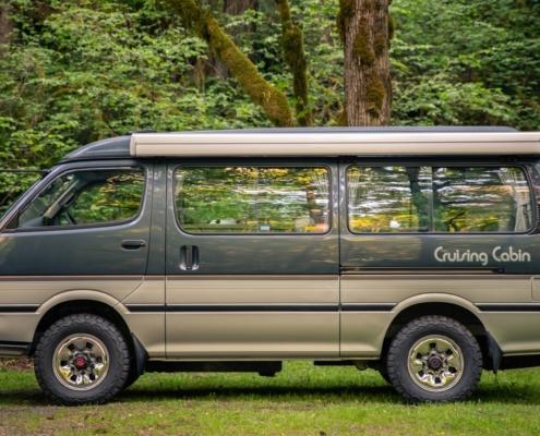 A 1993 Toyota Cruising Cabin 4x4 Camper Van for sale