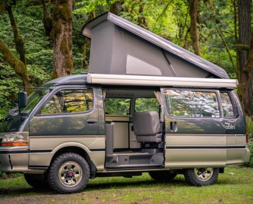 Toyota Pop Top Camping Van for sale