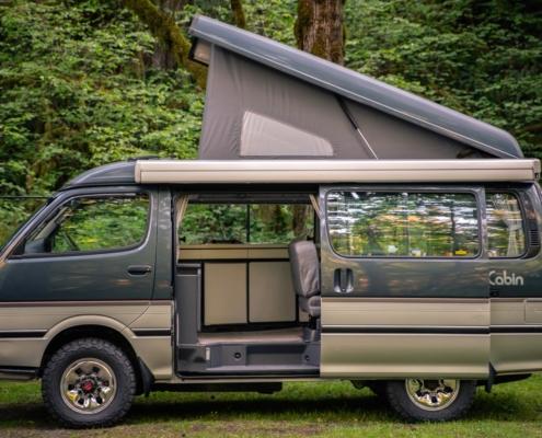 Toyota Hiace Pop Top Camper