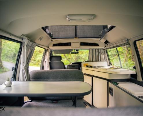 Toyota Cruising Cabin Interior