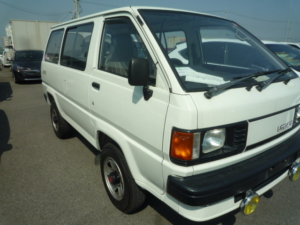 This is a 1988 Toyota Liteace Van