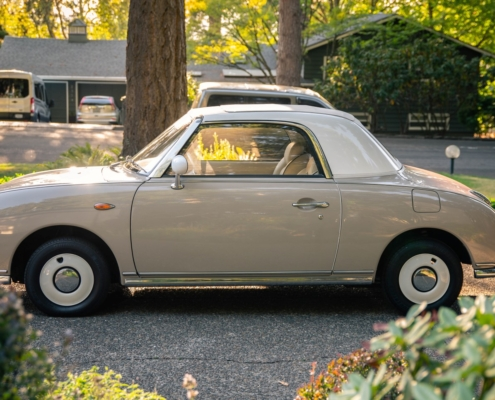 This is a 1991 Nissan Figaro
