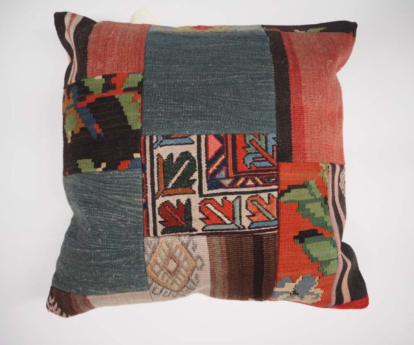 Antique Kilim Patchwork Cushion