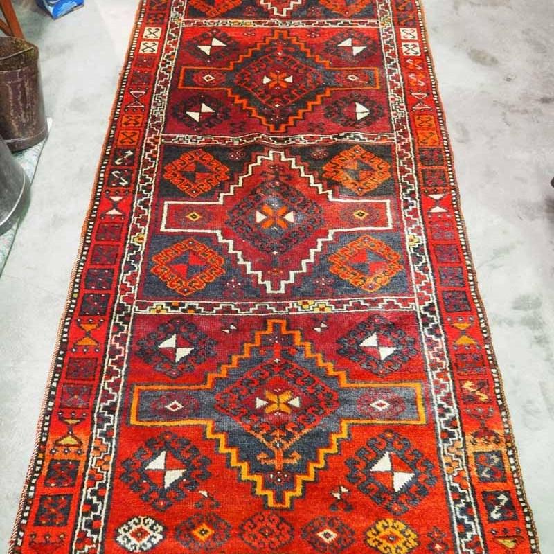 Wool carpet from Konya Turkey