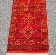 Wool on wool Hand knotted Kilim & Soumac weaving from North Perisa Avshar