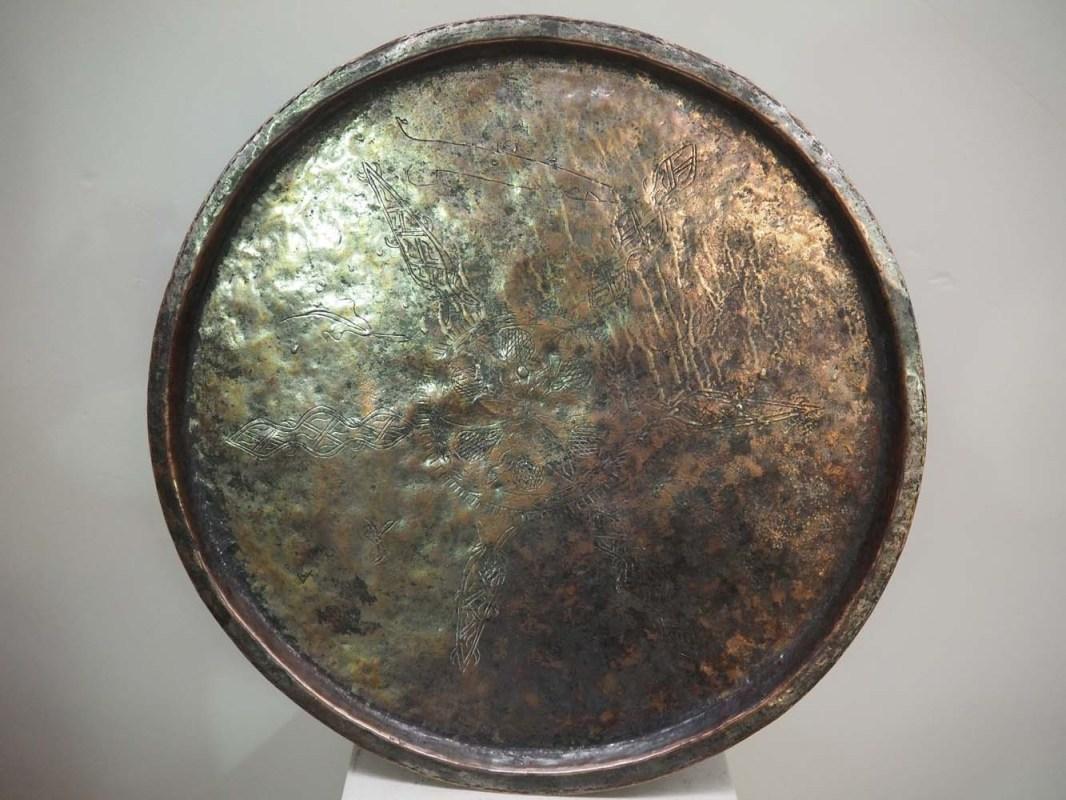 Ottoman period metal homeware copper tray