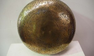 Brass And tin Ottoman Turkish antique bowl