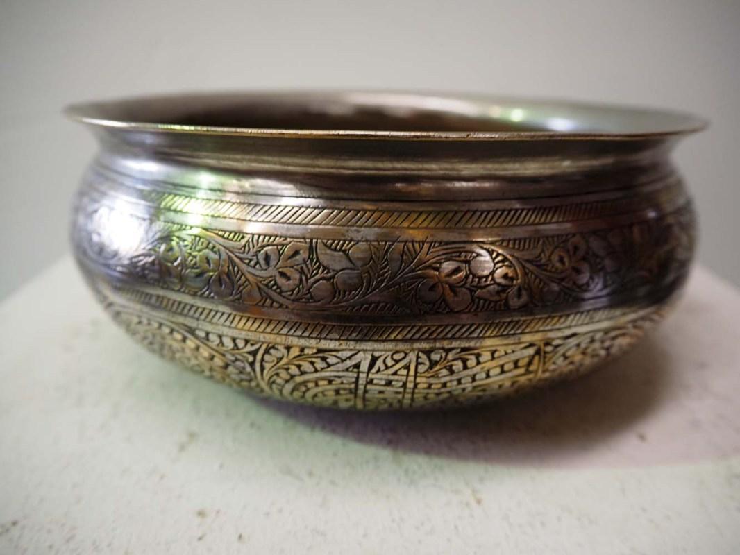 Ottoman engraved hamam bowl homewares