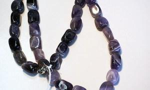 Turkish Amethyst & Silver Necklace