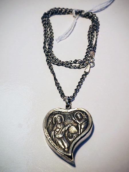 Ottoman period Greek silver 19th century necklace