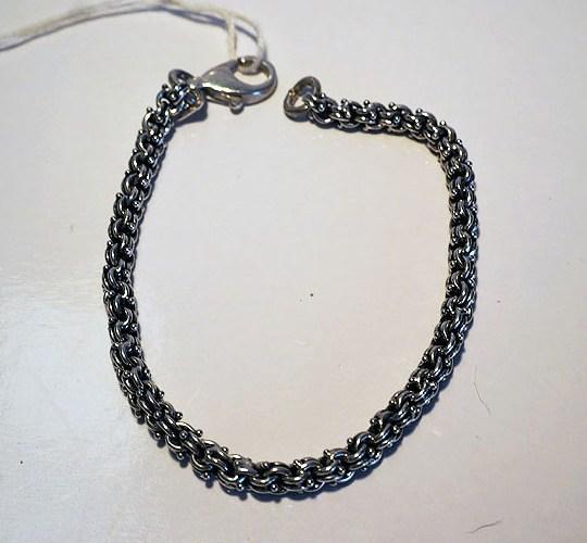 Turkish Silver Chain Bracelet