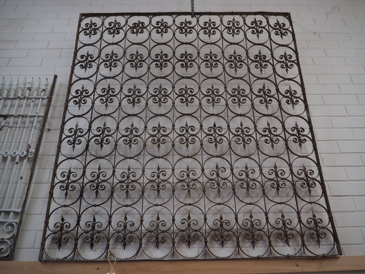Antique Ottoman Wrought iron Grill from the 19th Century