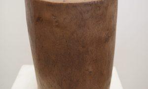 Turkish wooden mortar