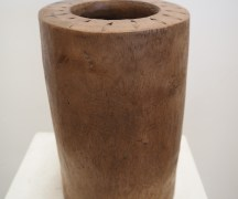 Turkish wooden mortar