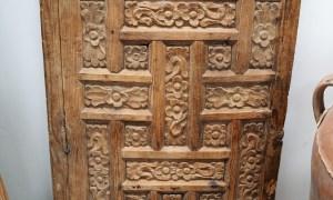 Antique Ottoman period carved door