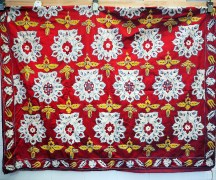 Spectacular Bokhara cover, Vintage 60 years old, Very fine embroidery