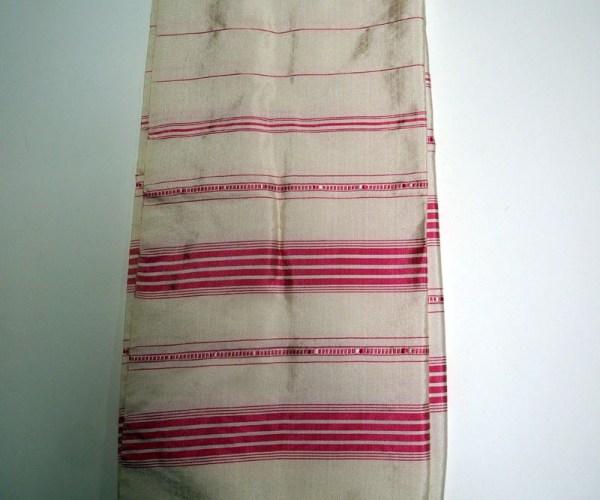Fine hand loomed Turkish silk scarf