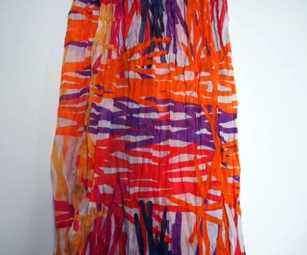 Turkish Brightly coloured Silk Scarf