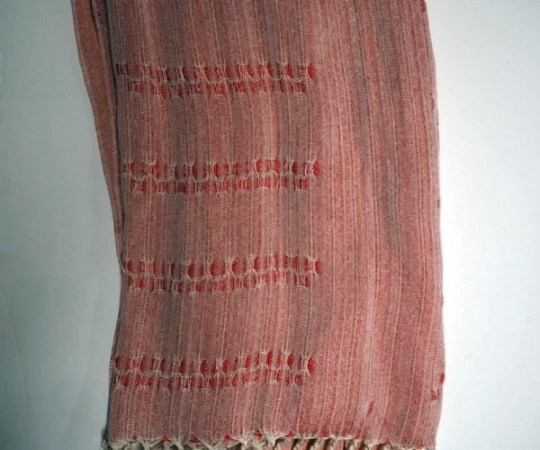 Silk, Linen Jacquard scarf