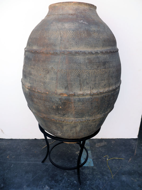 Ottoman period decorated Terracotta urn from Anatolia