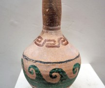 Ionian painted terracotta vase, 19th century