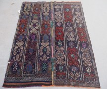Finely woven Iraqi Kurdish Herki Soumac, approximately 160 years old