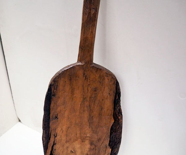 Ottoman period wooden food paddle