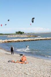 Medelhavet, strax utanför Nice, Frankrike