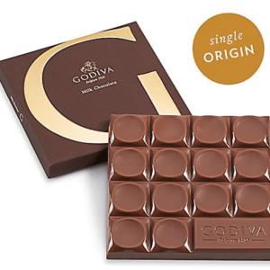 Otto's Granary G by Godiva Milk Chocolate Bar, 42% Cocoa, 2.8 oz.