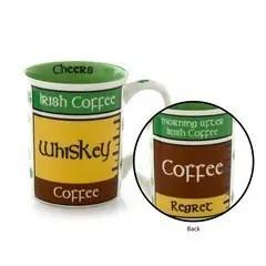 Funny irish mug