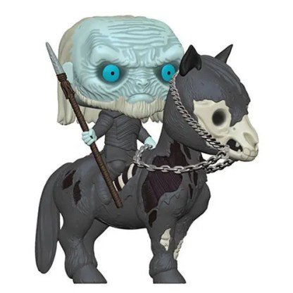 Otto's Granary Game of Thrones White Walker on Horse POP! Bobblehead