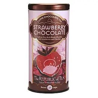 Otto's Granary Strawberry Cuppa Chocolate Tea by The Republic of Tea