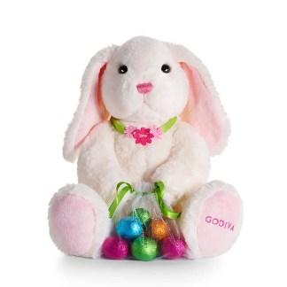 Otto's Granary GODIVA Plush Bunny with Foil Eggs