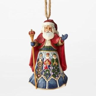 Santa Ornaments by Jim Shore
