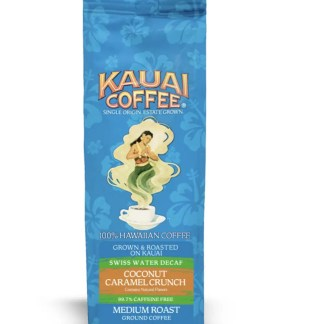 100% Kauai Coffee Swiss Water Decaf Coconut Caramel Crunch