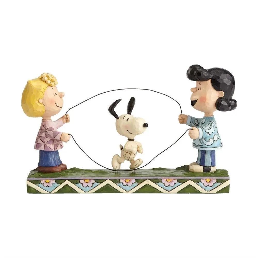 Peanuts Double Dutch Dog By Jim Shore Figurine For Sale Ottos