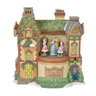 Otto's Granary Nine Ladies Dance Conservatory - Dickens Village
