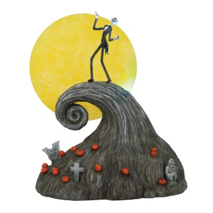 Otto's Granary Jack On Spiral Hill - Nightmare Before Christmas Village