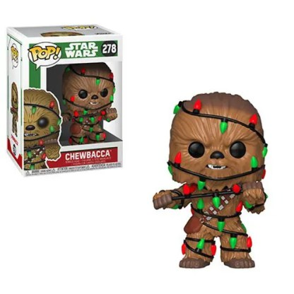 Otto's Granary Star Wars Holiday Chewbacca with Lights #278 POP! Bobblehead