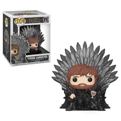 Otto's Granary Game of Thrones Tyrion Lannister Sitting on Throne Deluxe #71 POP! Bobblehead