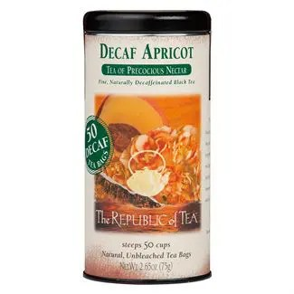 Otto's Granary Decaf Apricot Black Tea Bags by The Republic of Tea