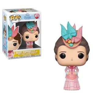 Otto's Granary Mary Poppins Returns: Mary Pink Dress #473 POP! Bobblehead