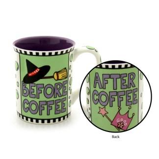 Before Coffee Wicked Halloween Mug