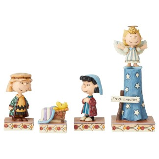 Otto's Granary Peanuts Christmas Pageant Set by Jim Shore