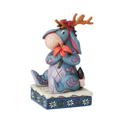 Otto's Granary Eeyore Christmas Personality Figurine by Jim Shore