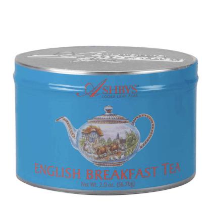 English Breakfast Loose Leaf Tea Tin by Ashbys