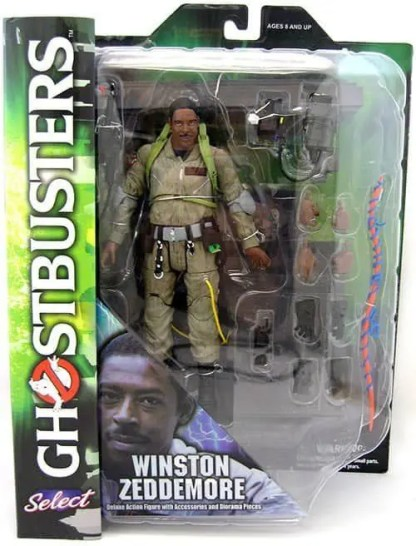 Ghostbusters Winston Select Action Figure (Series 1)