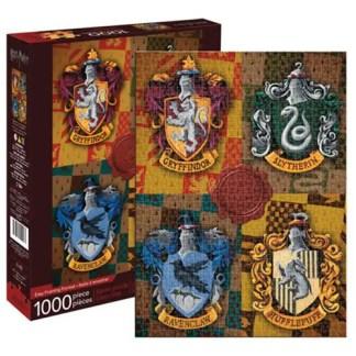 Harry Potter Houses Crests 1,000-Piece Puzzle